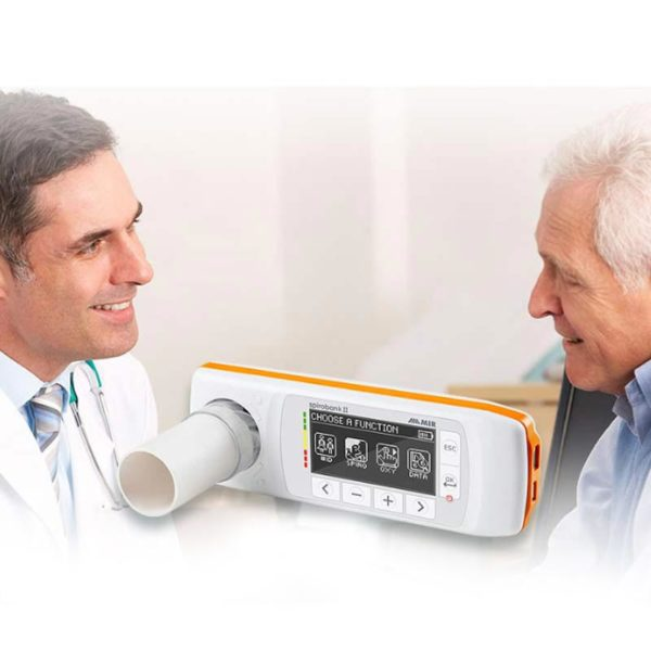 MIR Spirobank 2 Smart_Advanced Spirometer